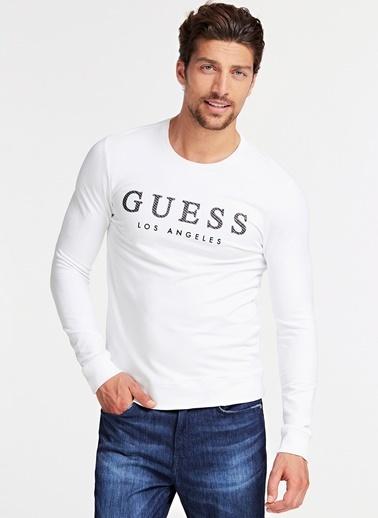 Guess Sweatshirt Beyaz